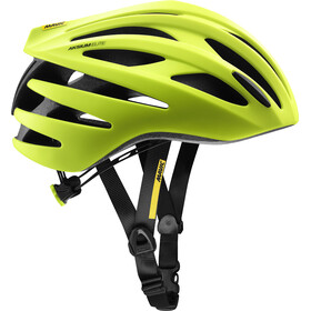 Mavic Aksium Elite Cykelhjelm Herrer, safety yellow/black